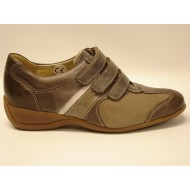x Sensible love velcro Taupe